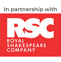 In partnership with The Royal Shakespeare Company
