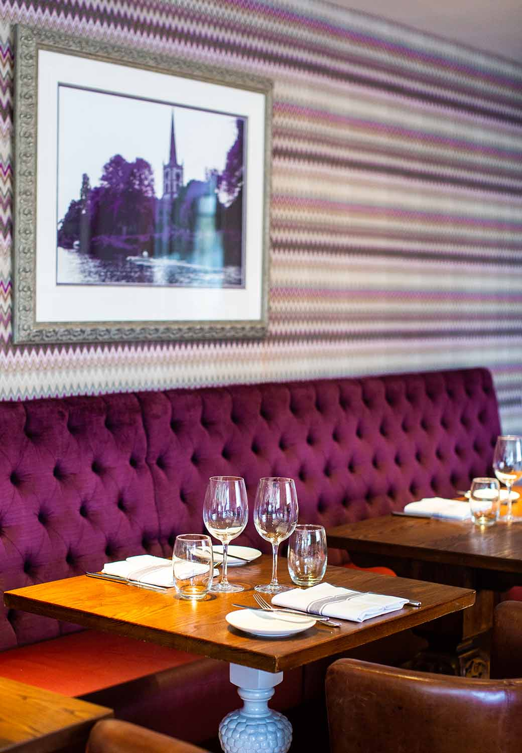 Fine dining at The Arden Hotel in Stratford-upon-Avon