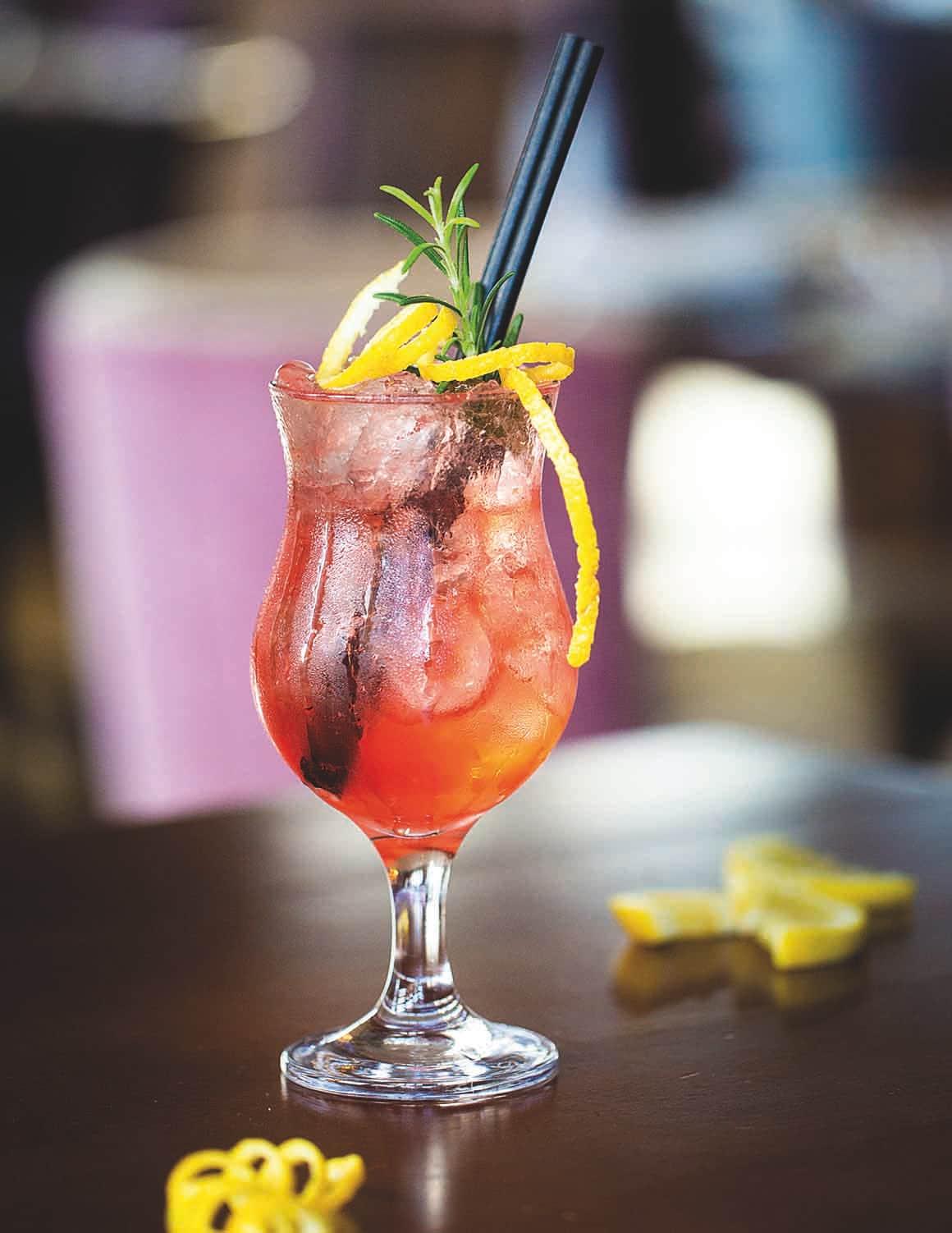 Cocktail Bar at The Arden hotel in Stratford-upon-Avon