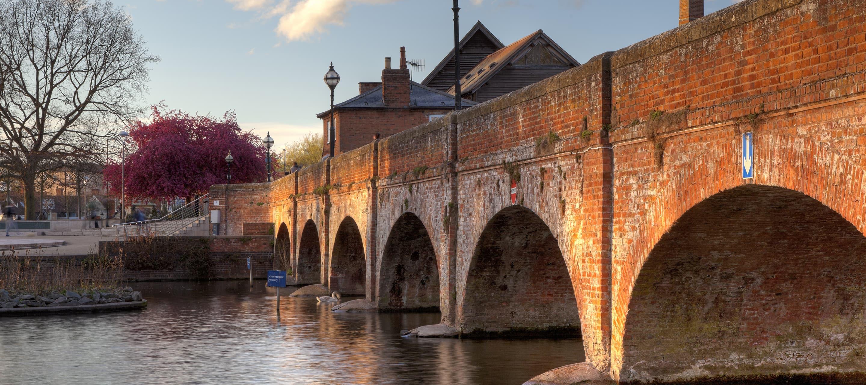 Stratford-upon-Avon footbridge