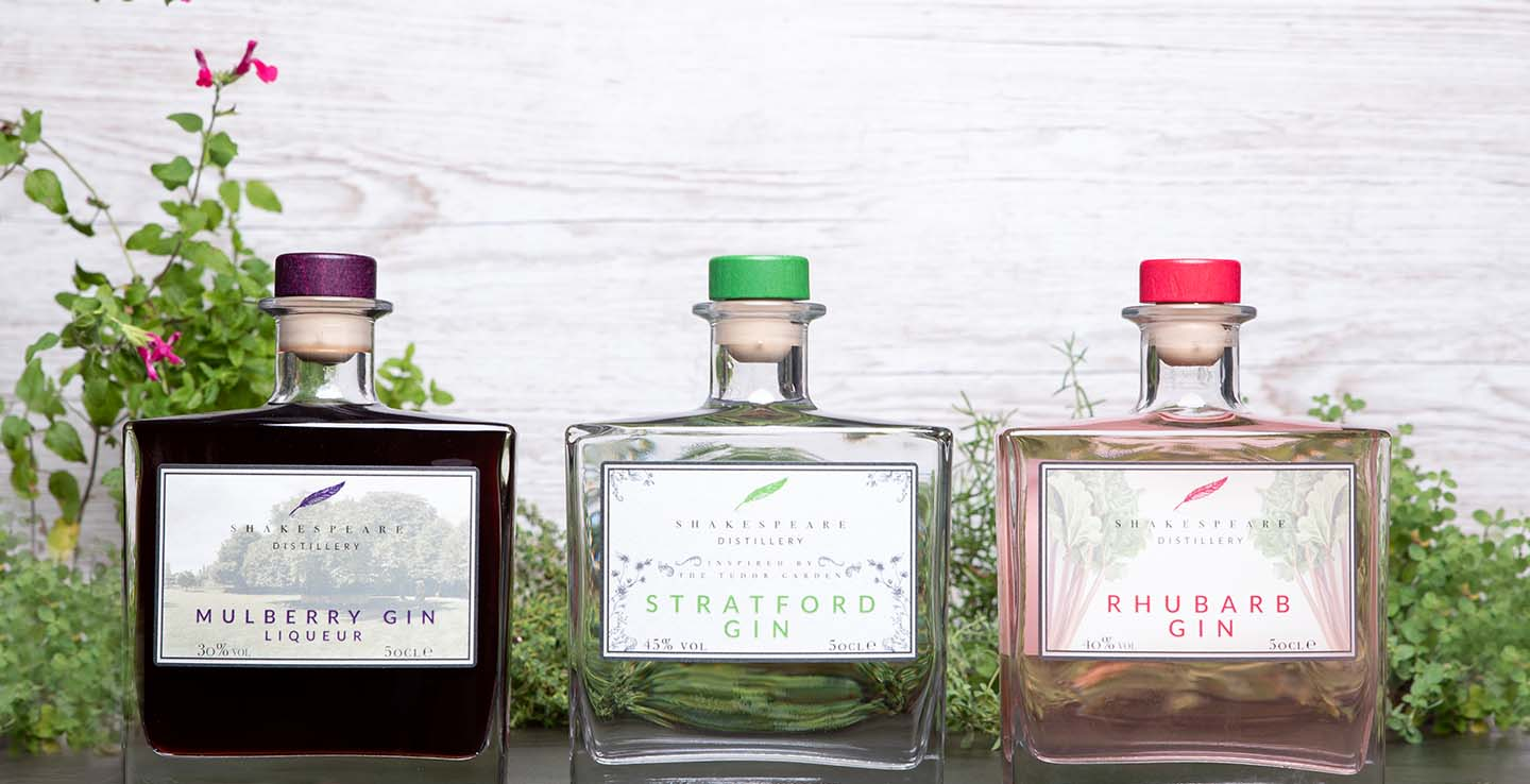 Gin Experience Package at The Arden Hotel with Shakespeare's Distillery